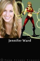 Wondergirl Actress Jennifer Ward by TTProject