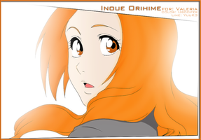 Inoue Orihime Color by UboCifer