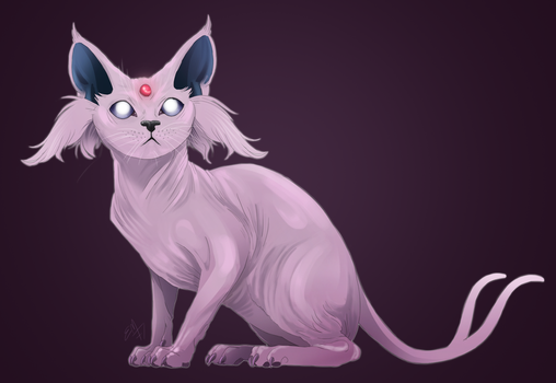 Espeon by Emmendal