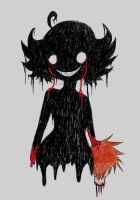 mistress of horror chibi. by cedebee1472