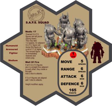 Ma.K Heroscape Unit Card by FarawayPictures