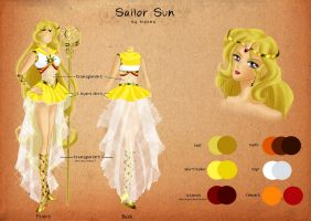 Sailor Sun Chara Sheet by bloona
