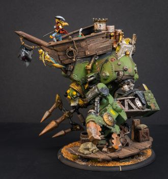 Warmachine Galleon named Shore Leave 2 by IgenSTilch