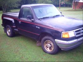 Jet Customs: 97 Ford Ranger(Little Shadow) by NationalMind