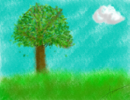 Crayon Tree by PurinxPop