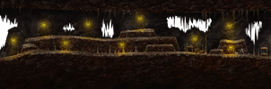 Mark of darkness map 9 - Cave. by AlMaNeGrA