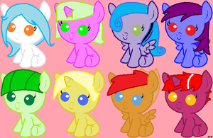 Free Adopts Batch 1 (CLOSED) by nomenclaturewaggle