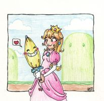 Princess Peach by suzy-cat