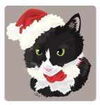 Christmas Cat by lbgilbert