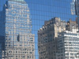 Buildings Reflected by ShadowTheShinigami
