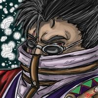 Auron for Lyra by blackheartedhate