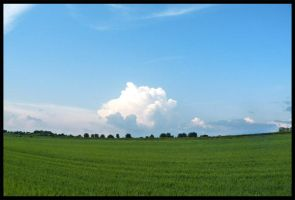 Big cloud in the country by NNaRa