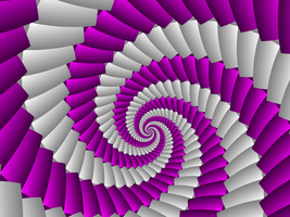 Ribbon Spiral by moonhigh