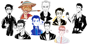 Broderlands Sketchdump by AbysmalJack