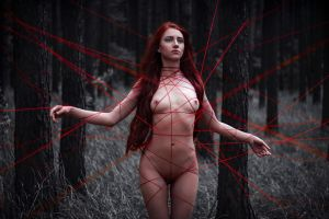 Red lines_2 by GreatQueenLina
