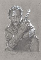 Walking Dead, Rick Grimes by JeffLafferty