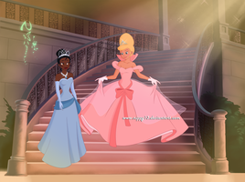 Tiana and Charlotte by Nippy13