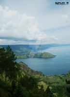 Lake Toba from Simalem by MikEZzZZ
