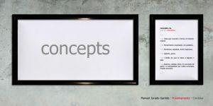 Concepts - coming soon - by pg-sc