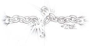 Tattooflash break the chains by 2Face-Tattoo