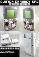 Custom Painted Gameboy Stars by Thretris