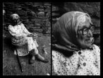 Old mother by photoax