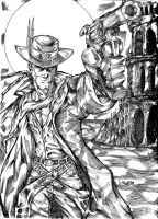 Roland Deschain of Gilead Inks by JamesLeeStone