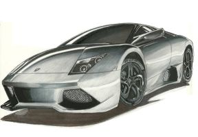 Stealth Lambo by wikkidkid