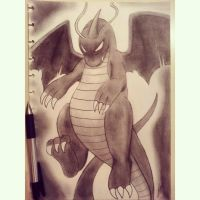 Dark Dragonite by atta9
