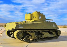 M4 Sherman Ol War Horse by flatsix911