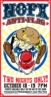 NOFX 'Obama Clown' Poster by luvataciousskull
