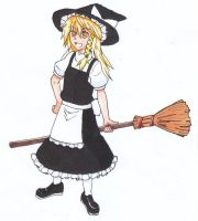 Marisa 120207 by ukyou-beneventum