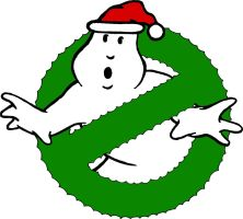 Ghostbusters Christmas Logo 2 by DerGrundel