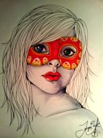 Unfinished Mask by underneath-the-paint