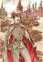 Starshina Yezhov by Soviet-Superwoman