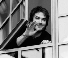 Ian Somerhalder Black n White by MYxPassionxKTG