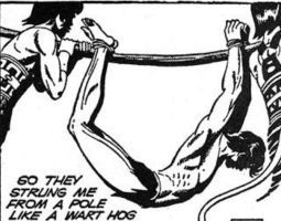 Korak in captivity - Daily Tarzan (12/30/1969) by korak225