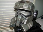 Halo EOD helmet with CNM 2 by Hyperballistik