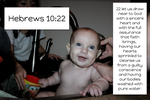 Hebrewes 10:22 by ChristCentric