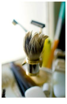 A Shaving Brush by friscorain