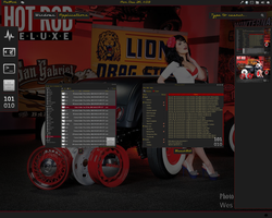 Gnome shell suite RatRod by cbowman57