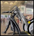 Sephiroth Death 1 RETRO by TheDailyNissan