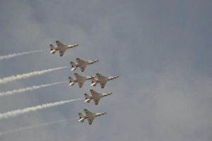 More f16s over my house by DeSynchronizer