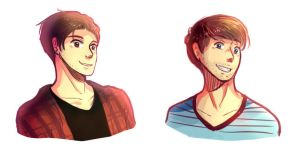 Smosh Doodles 2-9-15 by GothicShoujo