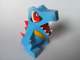 Totodile papercraft by Marlous2604