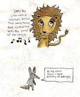 Larry the Lion characters by juliette5094