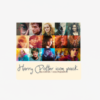 Harry Potter icon pack. by violetpsychopath