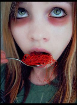 Eat your noodles. by InsideMe