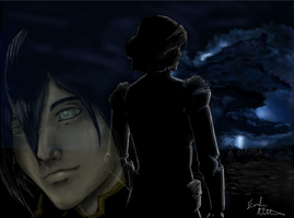 LoK Toph and Lin Bei Fong by CelticD