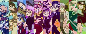 Soul Eater Bookmarks by Bewinged